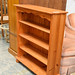 Pine open fronted bookcase E50