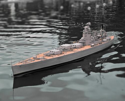Model of HMS Nelson.