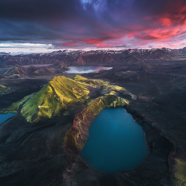 Icelandic Highlands by Drone