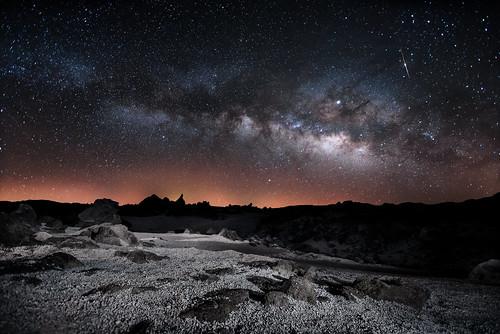 Vía Láctea el 04/05/19 desde Las Cañadas del Teide