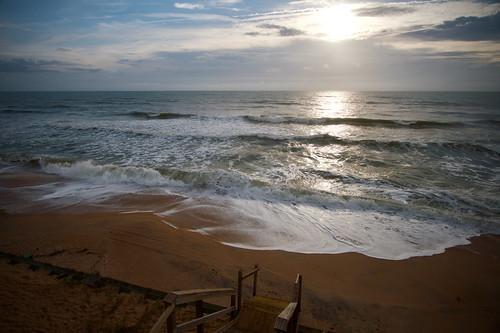 atlantic beach florida ocean sand sunrise vacation wave