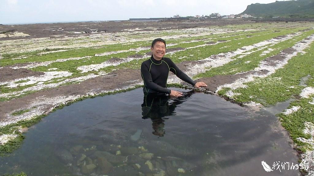 陳楊文一次來到位於東北角的馬崗潮間帶,深深著迷。從此不分四季,每個月都來馬崗觀察。
