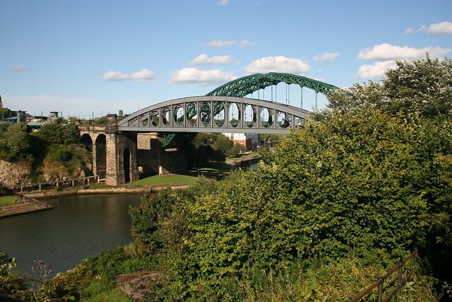 The Wearmouth bridge, Sunderland