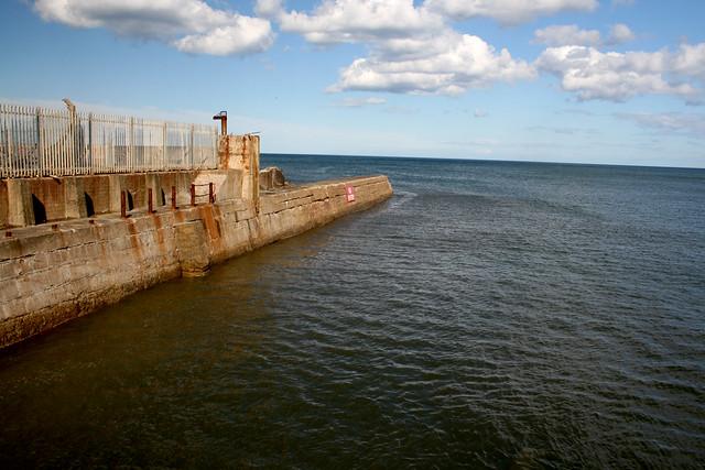 Sunderland harbour wall