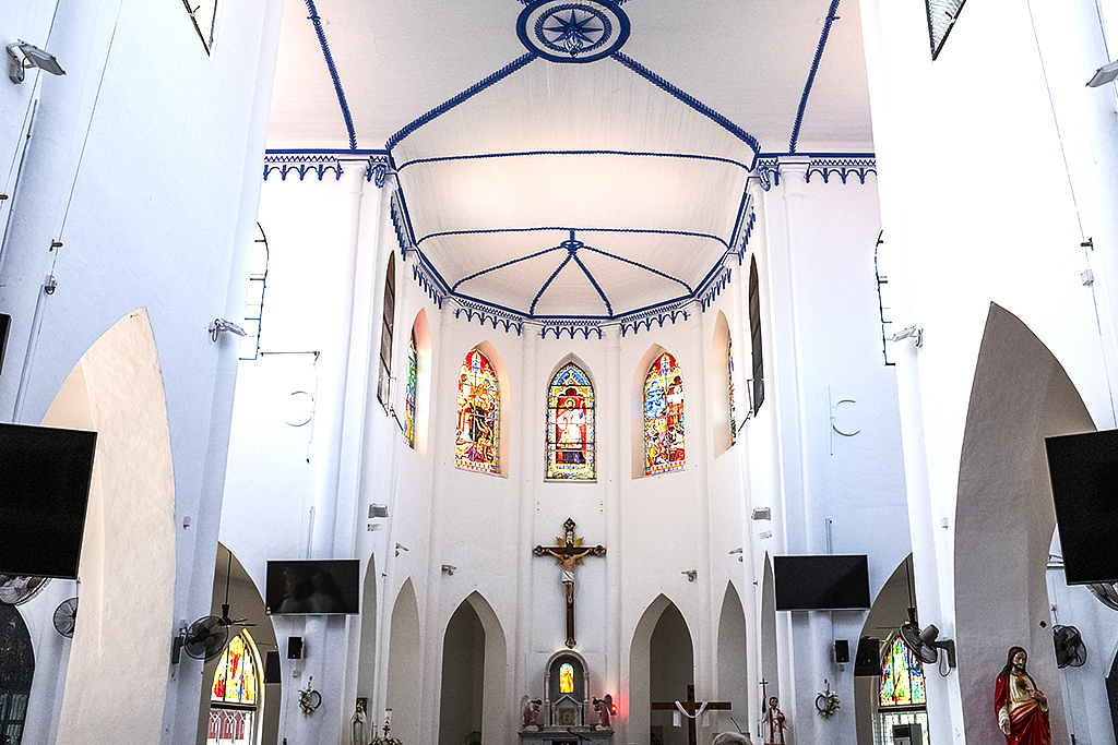 Church of St. Francis Xavier--Malacca