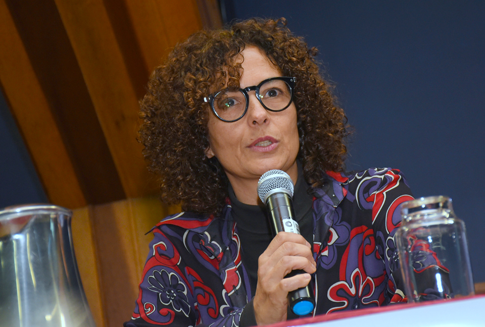 Paula Cesarino Costa, new diversity editor at Folha. (Photo: Antoninho Perri / Unicamp)