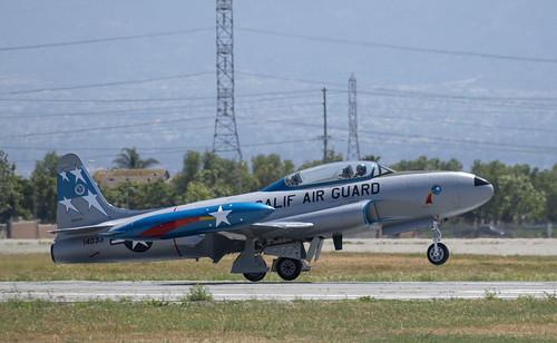 T-33 Shooting Star Landing