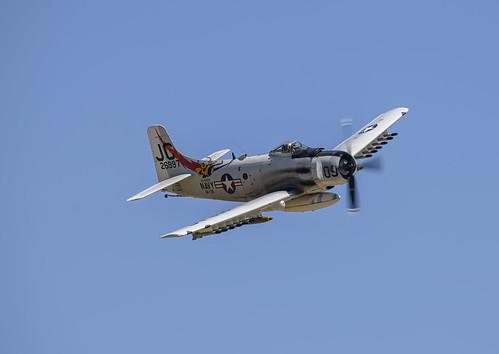 Skyraider Approaching