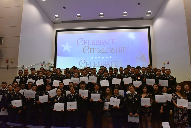 Naturalization Ceremony - 22 May 19