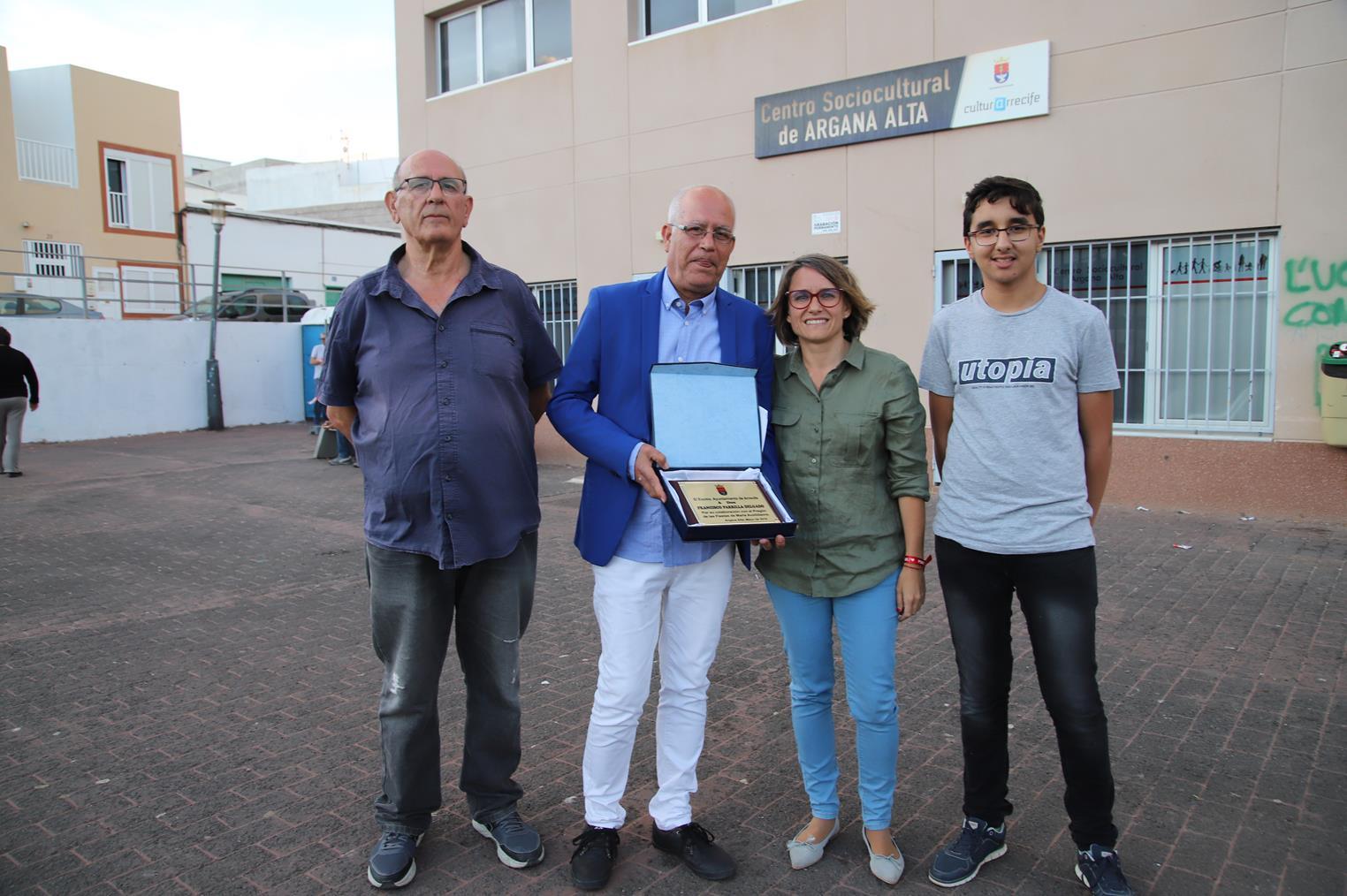 Pregón de Paco Parrilla en Argana Alta 2019