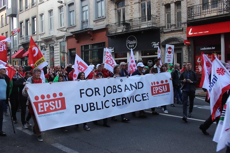 26 avril 2019 - Manifestation - Pour une Europe sociale (Bruxelles)