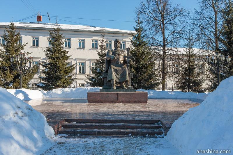 Памятник Юрию Долгорукому, Кострома
