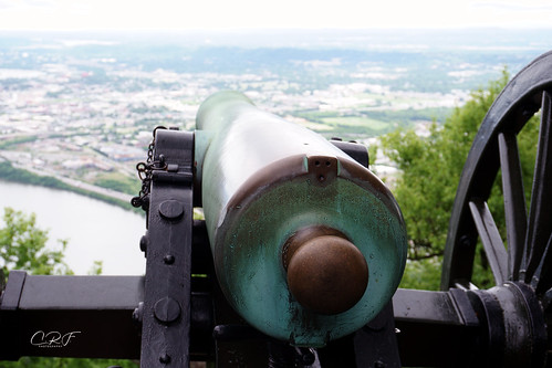 cannon over Chattanooga, TN