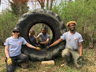 Photo of Maryland Conservation Corps staff