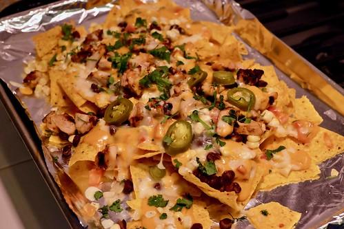 sheet pan pollo asado nachos | by ptrcktlln