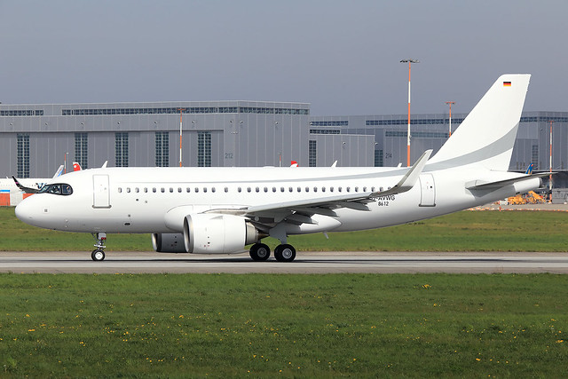 K5 Aviation Airbus A319-153NCJ D-AVWG (D-ANEO)