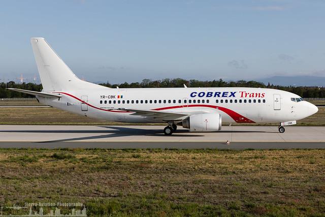YR-CBK Cobrex Trans Boeing 737-382 (FRA - EDDF -  Frankfurt)