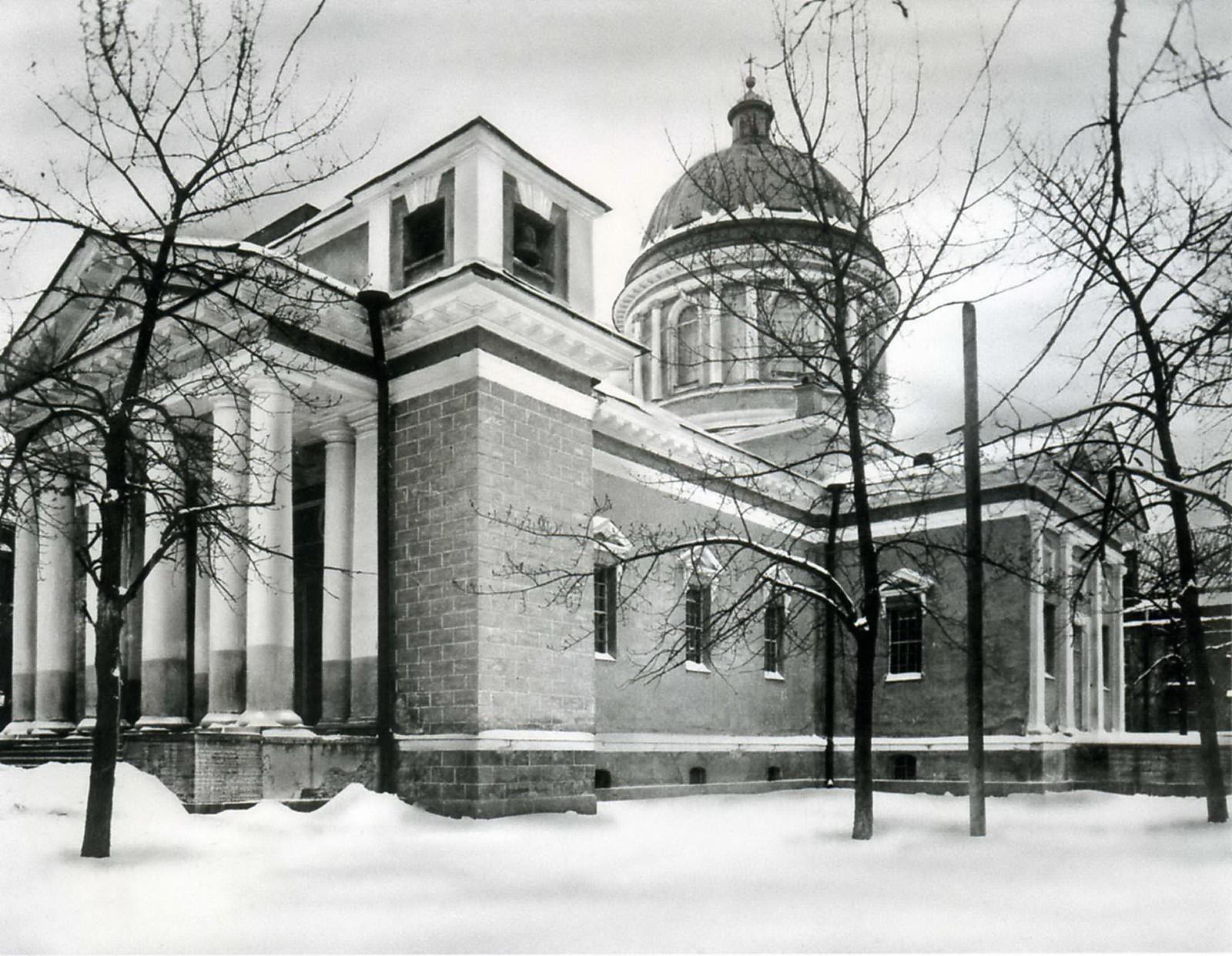 Церковь св.апостола Павла при Обуховском сталелитейном заводе