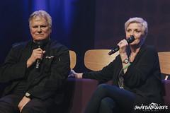 Amanda Tapping and Richard Dean Anderson