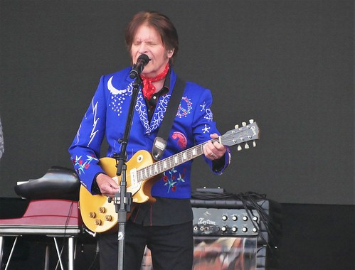 John Fogerty on Day 8 of Jazz Fest - 5.5.19. Photo by Louis Crispino.