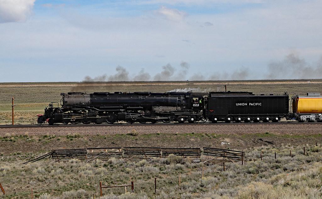 Rolling Across Wyoming