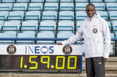 Rekordman Kipchoge vyhlásil druhý útok na maraton pod dvě