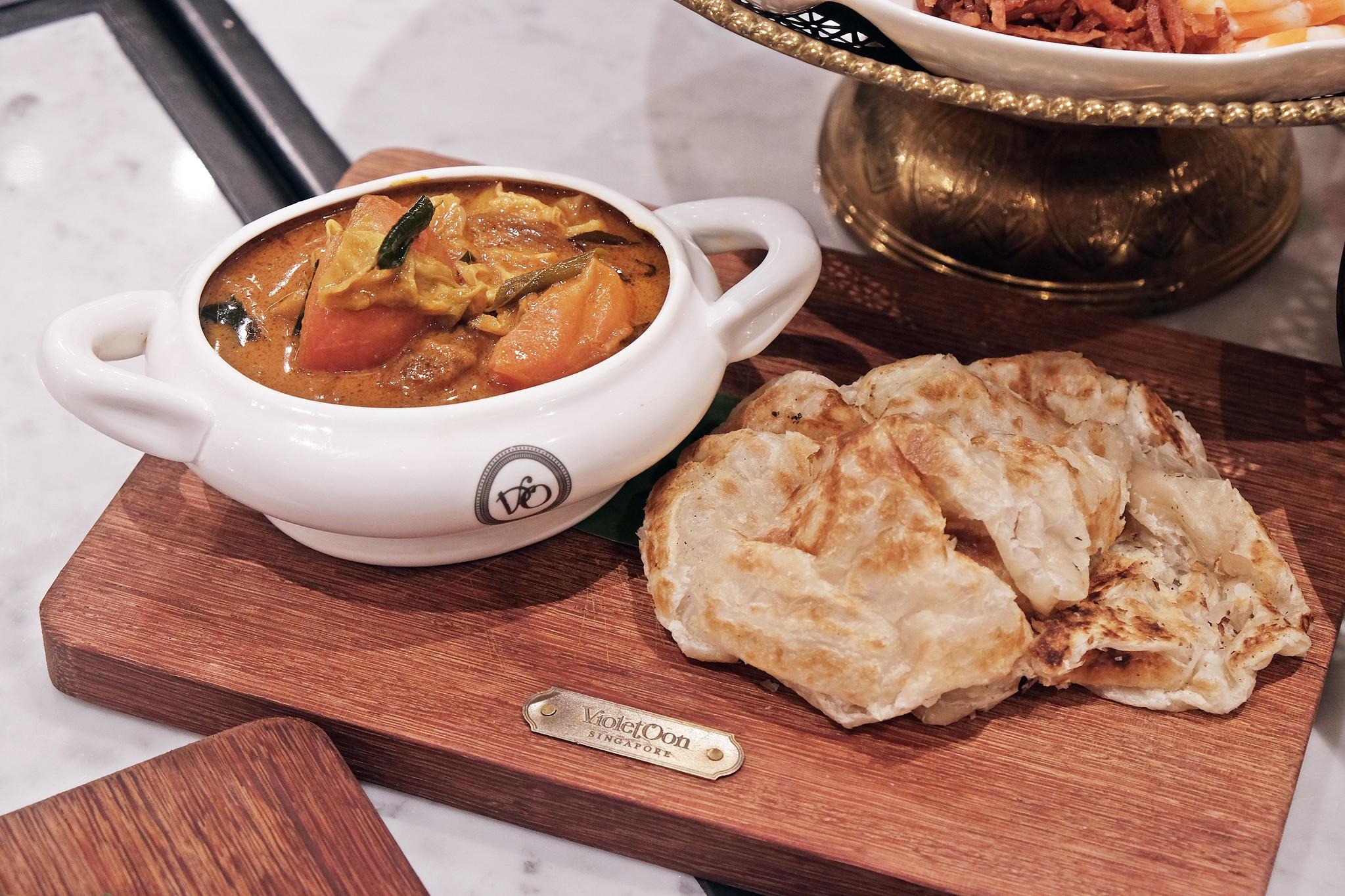 Violet Onn Jewel Changi Airport-Roti Prata vegetarian