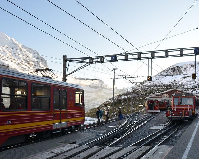 Puerto de montaña de Kleine Scheidegg