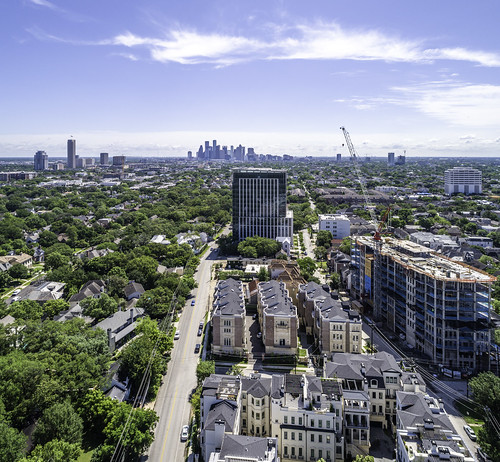 River Oaks-Houston Skyline-ROBB-Mabry Campbell   by Mabry Campbell