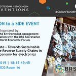 BRS COPs 2019 DAY 7 Side Event - May 6, 2019, Geneva, Switzerland