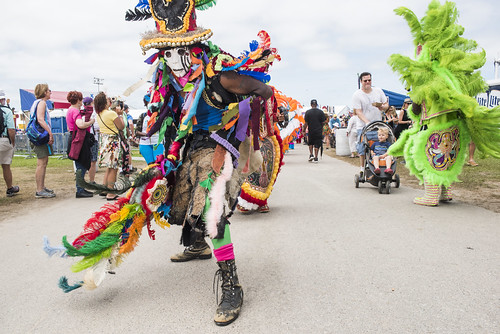 Mohawk Hunters at Jazz Fest 2019 day 8 on May 5, 2019. Photo by Ryan Hodgson-Rigsbee RHRphoto.com