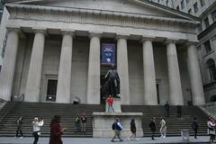 George Washington and Federal Hall, NYC