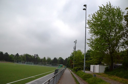 New artificial turf in Schwarzrheindorf.