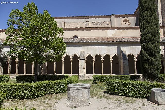 Claustro del Monasterio de Nuestra Señora de la Soterraña -Santa María la Real de Nieva