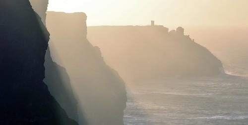 cliffsofmoher ireland sunset sunrise