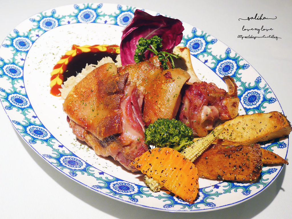 桃園火車站附近美食推薦BG德國農莊TeaBar好吃德國豬腳排餐約會餐廳 (3)