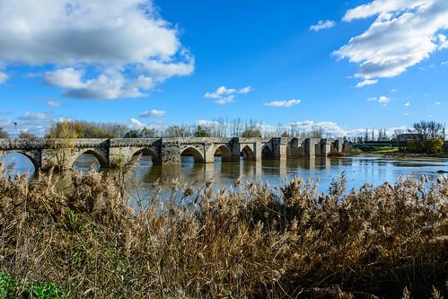Simancas. Puente Medieval