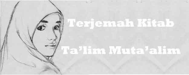 Terjemah Kitab Ta'lim Muta'alim