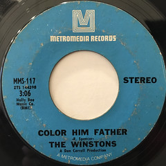 THE WINSTONS:COLOR HIM FATHER(LABEL SIDE-A)