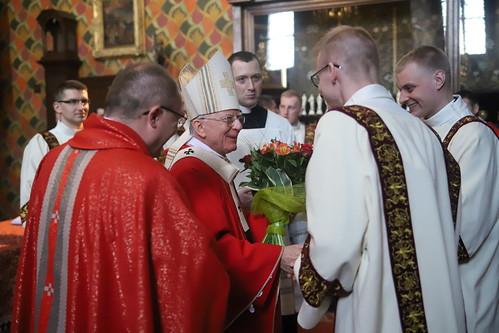 Święcenia diakonatu w Katedrze na Wawelu | Abp Marek Jędraszewski, 8.05.2019 r.