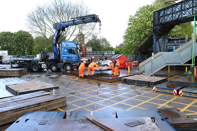 Building The Spreader Pads For The Crane