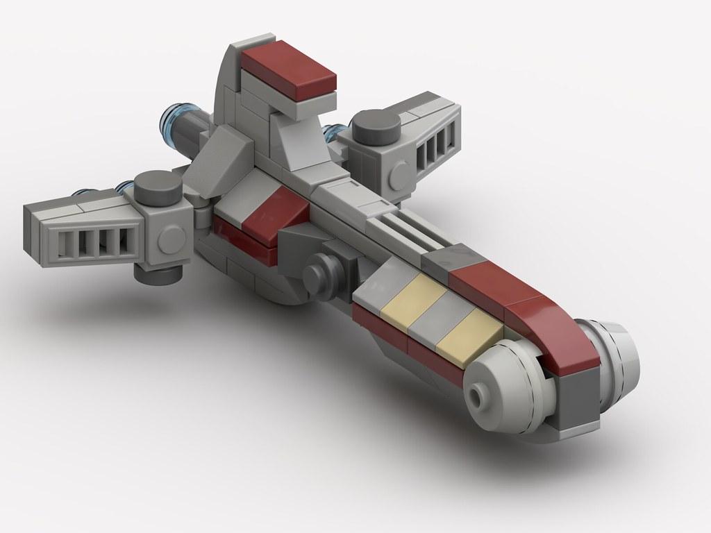 Lego Pelta Frigate MOC