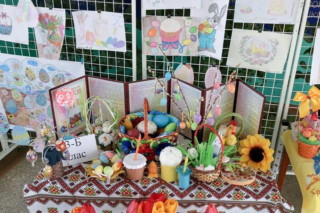 Виставка робіт «Великоднє яйце щастя й радість несе», 28.04.19