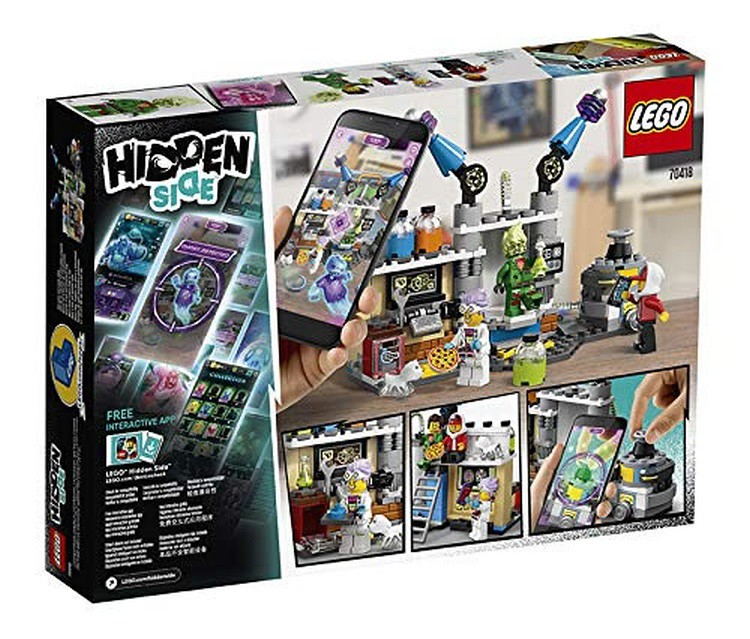 LEGO Hidden Side - 70418 - Laboratory 03