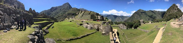 IncaTrail - Machu Picchu - pano