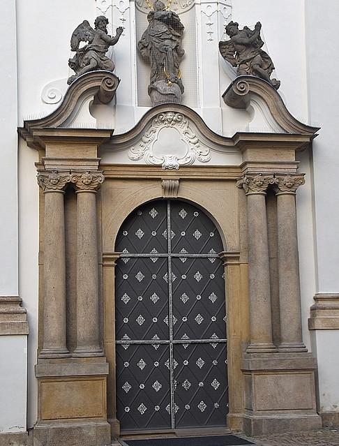 Břevnov Monastery, Prague, Czech Republic.