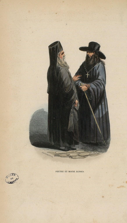 02. Священник и русский монах
