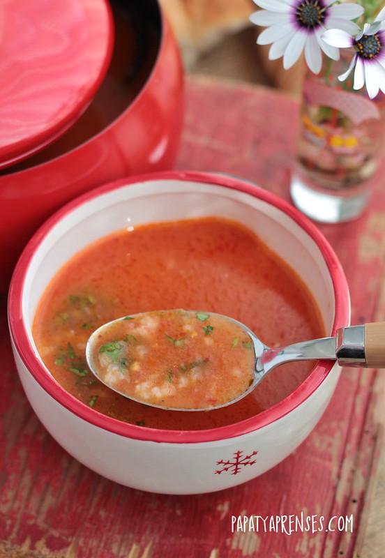 pirinçli domates çorbası 008
