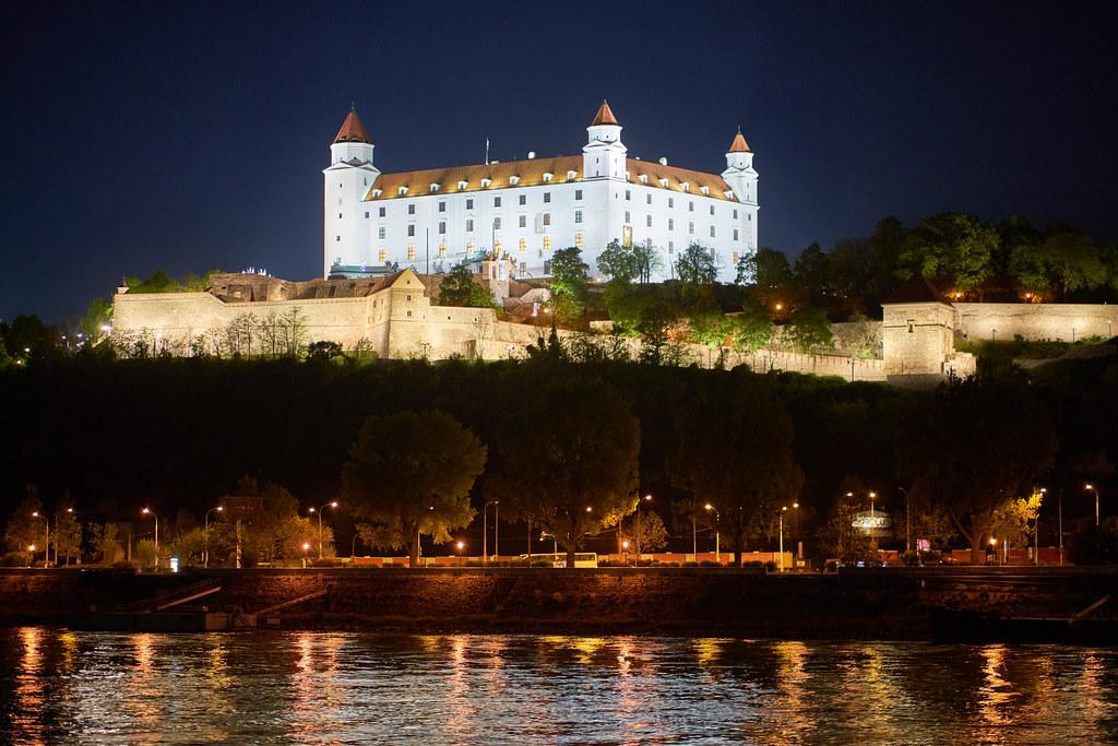 Братиславский замок, Словакия, Европа