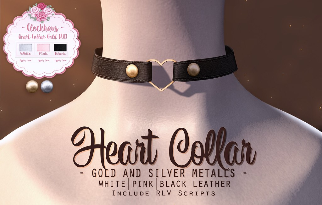 Heart Collar for The POINT Event - TeleportHub.com Live!